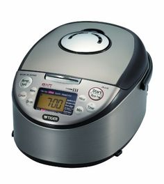 Black Friday 2014 Tiger Induction Heating (Uncooked) Rice Cooker and Warmer from Tiger Corporation Cyber Monday Pressure Cooker Reviews, Best Electric Pressure Cooker, Portable Charcoal Grill, Best Charcoal Grill, Tiger Rice Cooker, Turkey Deep Fryer, Indoor Electric Grill, Electric Grills, Induction Heating