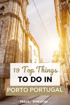 Looking to plan the perfect Porto Travel Itinerary? Then don't forget to add these 19 Top Porto Travel Things to do to your Porto Itinerary. Porto Portugal! #portotravel #porto #portoportugal Portugal Vacation, Portugal Travel Guide, Europe Travel Guide, Spain Travel, Travel Guides, Travel Destinations, Portugal Places To Visit, Porto City, Portugal Holidays