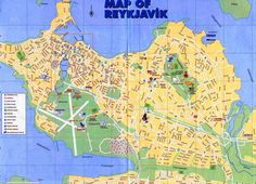 the reykjavik iceland blue lagoon visitors guide pocket book includes a road of and street s reykjavík city center kópavogur now