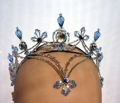 Crystal fountain fairy crown #dance #sleepingbeauty