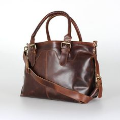 9d36e7b74120 Leather Tote Large Leather Purse Brown Distressed Leather