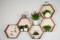DIY Möbel - Wabenregal ganz leicht selbermachen!