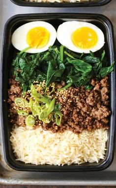 33 delicious meal prep recipes for healthy lunches that taste great TONS of healthy meal prep recipes! Click through for easy recipes you can make ahead and keep in the fridge for grab and go lunches all week long. Best Meal Prep, Lunch Meal Prep, Healthy Meal Prep, Healthy Cooking, Healthy Eating, Healthy Lunches, Make Ahead Healthy Meals, Daily Meal Prep, Healthy College Meals