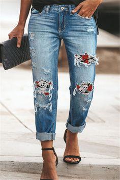 High Jeans, High Waist Jeans, Ripped Jeans, Denim Jeans, Mom Jeans, Cheap Boyfriend Jeans, White Trousers, Trousers Women, Jeans Women