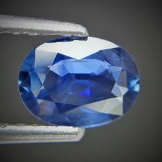 1.29ct Fascinating Color! Oval Cut 8x6mm Natural Sri Lanka Royal Blue Sapphire