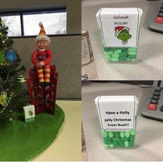 The 2018 Christmas season already has Buck, the Printingworx Elf, up to his old shenanigans!
