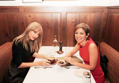 Taylor Swift with editor-and-chief of Glamour magazine celebrating its 75th Anniversary. It is awesome Taylor gets to be on the cover of the diamond anniversary issue.