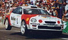Toyota Celica GT4 on Michelin tyres www.pellonautocentre.com/blog