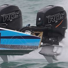 Mercury Racing Race Off Shore (ROS) outboards