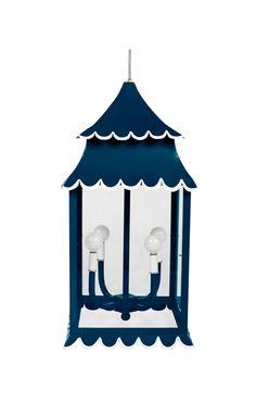 ⚓Scallop hanging lantern by Stray Dog Designs