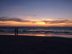 Sunset at Henley Beach, SA