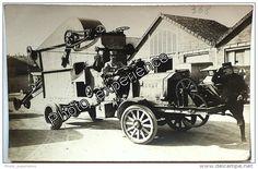 CPA Carte Photo Guerre 14-18 Militaire Genie Voiture Military Car WW1