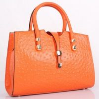 Genuine Italian leather Luxury fashion elegant women handbag