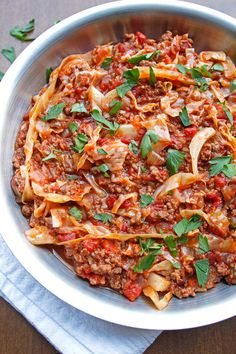 All the rich and hearty flavor of stuffed cabbage without all the work! This unstuffed cabbage recipe transforms the classic into a one pot wonder.