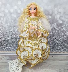 Ball jointed doll, OOAK art doll, Personalized dolls Guardian Angel, Monogrammed beaded doll bagAsk a question$200.00 Homemade Christmas Gifts, Homemade Gifts, Barbie Clothes, Barbie Dolls, Best Baby Gifts, Ball Jointed Dolls, Czech Glass Beads, Ladybug, Art Dolls