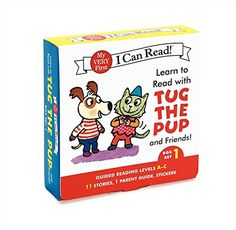 Learn to Read with Tug the Pup and Friends! Box Set 1: Le...