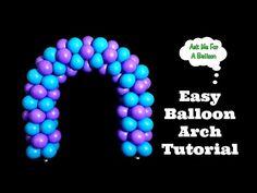 Dollar Tree Baby Shower Balloon Tutorial - YouTube