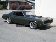 1969 Cougar 1967 1968 1970 Mustang Camero Hotrod Muscle Car Pro Touring V8 Cougar photo