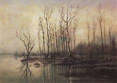 Wczesna wiosna, powódź 1868 - Aleksiej Sawrasow