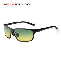 e33c9ded19 Goggle Polarized Night Day Driving Sun Glasses 2017 New Men Sunglasses Top  Quality Eyewear Accessories Oculos