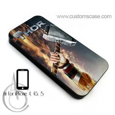Thor The Dark World iphone 4 or 4S Case Cover