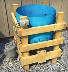 A chicken plucker saves time and energy spent processing your chickens, and you can even build one yourself.