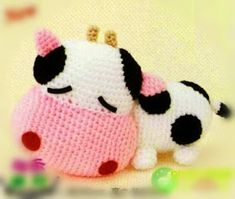 Hottest Totally Free knitting charts cow Ideas FREE Amigurumi Cow Crochet Pattern and Tutorial (chart diagram)O ༺✿Teresa Re… : FREE Amiguru Knit Or Crochet, Cute Crochet, Crochet For Kids, Crochet Crafts, Crochet Baby, Crochet Projects, Yarn Crafts, Crochet Patterns Amigurumi, Crochet Dolls
