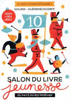Affiche Laurent Moreau - Salon du livre jeunesse