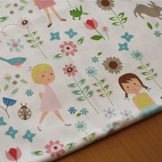 Olliegraphic fabric- In The Garden