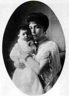Victoria Melita with Maria