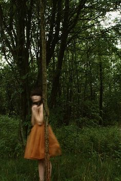 The little girl from the forest, the denizens of Halburg called her. They could never see her clearly, as her edges were blurred, but they always noticed how sad and lonely she looked.