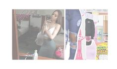 """ I got mo cɑsh then my own dɑd "" by loyalty-x0 ❤ liked on Polyvore featuring beauty, Yves Salomon, WithChic, GCDS, Cosabella and NIKE"