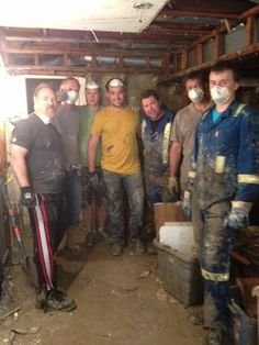 """""""Amazing DIRTTbags helping clean out flooded basements Flooded Basement, Business Help, Basements, Calgary, Abs, Strong, Cleaning, Luxury, Twitter"""