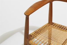 Wegner, Round Chair w seat caning, '48