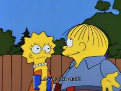 Pick-up lines from Ralph Wiggum.