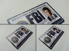 Supernatural FBI Id card Complete Set от Malinkocrafts на Etsy