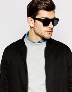 Macho Moda - Blog de Moda Masculina: Os Óculos Masculinos que estão em alta pra 2016, óculos de sol, óculos escuro,  óculos flat brow, flat brow, óculos, moda masculina, moda para homens, óculos reto, óculos retangular,