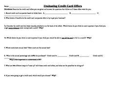 30 Credit Card Comparison Worksheet - Worksheet Resource Plans