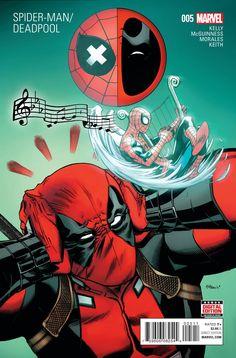 SPIDER-MAN DEADPOOL #5 (2016)