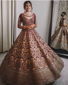 Indian designer golden lehenga choli for wedding outfits For order whatsapp us on wedding outfits wedding dress wedding dresses lengha lehnga sabyasachi manish malhotra Indian Wedding Gowns, Desi Wedding Dresses, Indian Bridal Outfits, Indian Bridal Lehenga, Indian Bridal Fashion, Pakistani Bridal Dresses, Indian Bridal Wear, Indian Designer Outfits, Wedding Outfits