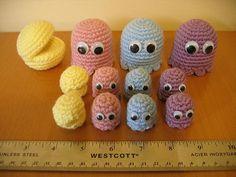 cute-pacman-crochet-dolls
