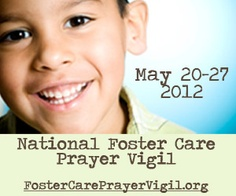 pray for children all over the world in foster care and those not fortunate enough to be in foster care.