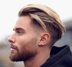 Swept Back Mohawk haircut