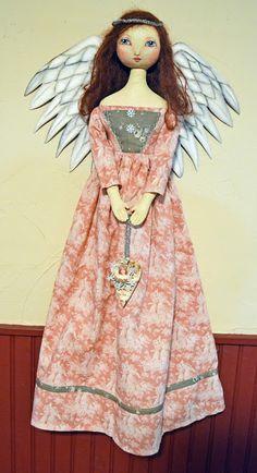 Annie Beez Folk Art: Getting in the dollmaking mood again!