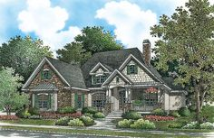 Home Plan The Raefield by Donald A. Gardner Architects