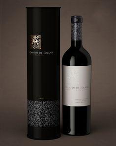 Wine Packaging | Packaging Botellas de vino. Colección de Altura by Estudio Iuvaro, via Behance