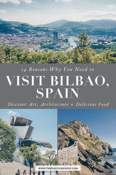 The best things to do in Bilbao. From the Guggenheim to amazing architecture and yummy pintxos (tapas) Bilbao is full of cool places to discover. Dont miss this Bilbao Spain travel guide - what to see where to stay and what to eat on your trip! Bilbao, Oregon, Best Places To Travel, Cool Places To Visit, Spain Destinations, Family Destinations, Travel Photographie, Montenegro Travel, Visit Madrid