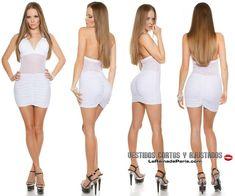b4f4ecbd7cfd Las 8 mejores imágenes de Vestidos ajustados blancos en 2016   Sexy ...