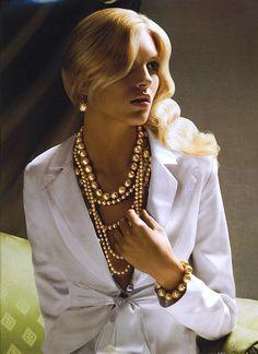 Anja Rubik | Neiman Marcus Holiday 2006