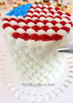 Fourth of July cake decorating tip